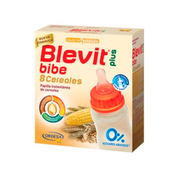BLEVIT PLUS 8 CEREALES PARA BIBERON 2 SOBRES 300